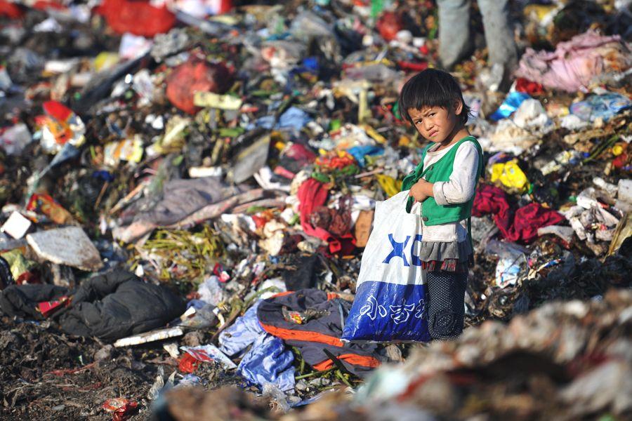 Migrant Workers Children Spend Childhood Scavenging
