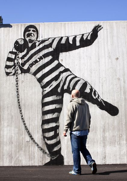 Art in Norway's Halden Prison.