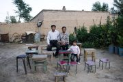 The people left behind in China's rural countryside: elderly parents, women, and children.