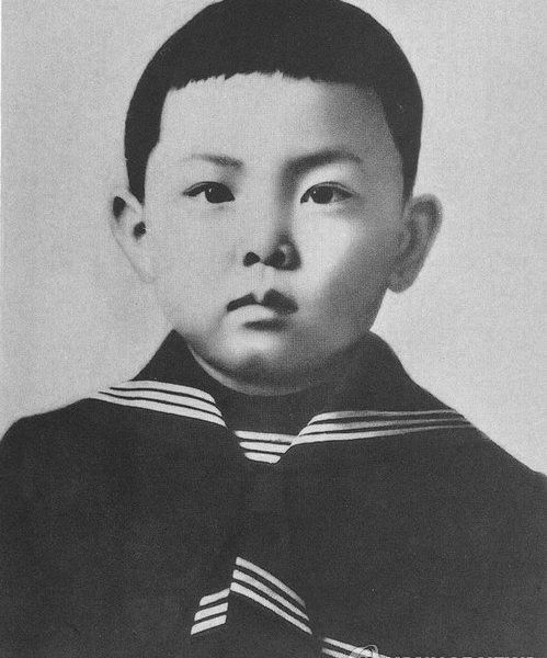 Kim Jong-il childhood photo.