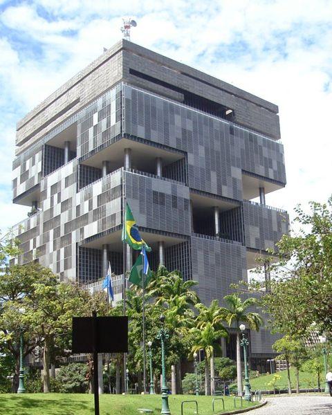 Petrobas Headquarters in Brazil.