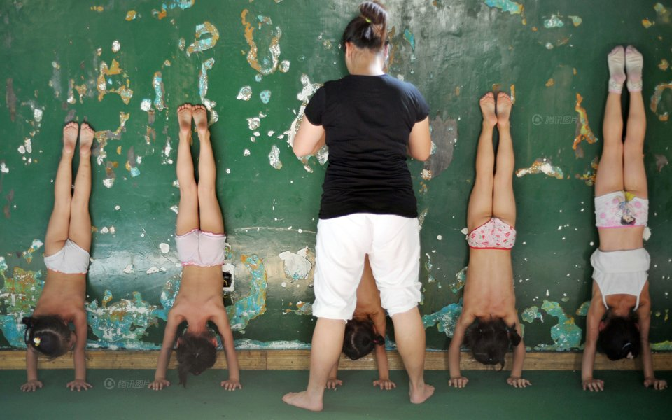 Little Girls Gymnastics