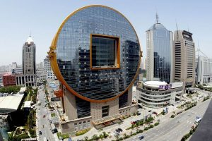 The Fangyuan Building in Shenyang, China.