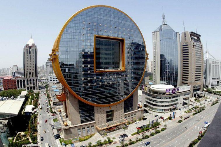 The Fangyuan Building in Shenyang, China.