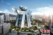 Chongqing Ren Ren building to be built in 2013.