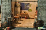 A miniature Lanzhou noodle restaurant.