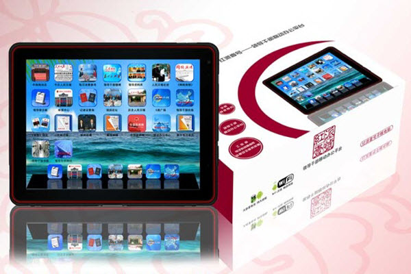 RedPad tablet computer marketed to Chinese government leaders and officials.