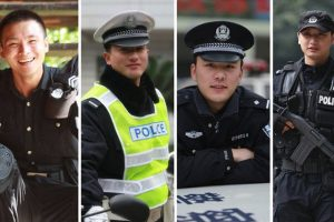 Chengdu Wuhou district police advertise 5 single policemen on their official microblog.