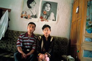 North Korean wives and Chinese husbands in the Yanbian Korean Autonomous Prefecture of northern China.