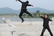 Chinese-graduates-showed-Kungfu