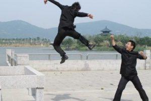 Chinese-graduates-showed-Kungfu