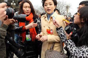 """Chinese netizens have been identifying and criticizing the luxury goods worn by delegates to the annual """"Two Meetings"""" of the NPC and CPPCC."""