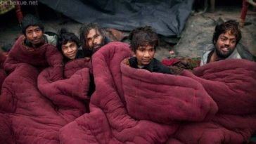 India's poor and homeless.