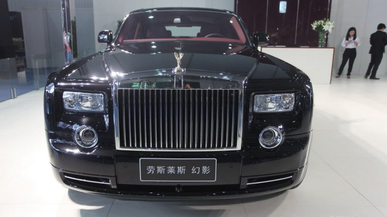 Rolls Royce Phantom Chinese.