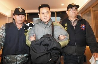"The man who organized a ""sex party"" aboard a Taiwanese train involving 1 young girl and 18 men."