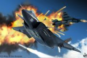 china-PLAAF-J10-stealth-fighter-shooting-down-japanese-f2-fighter-jet