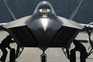 China's J20 stealth fighter.