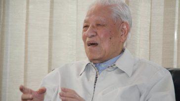 Former Taiwanese President Lee Teng-hui.
