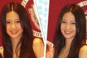 """Goddess Sister"" Lin Xuewei, an English teacher at Guangdong University of Foreign Studies Business College."