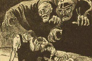 1950 China Communist propaganda comics.