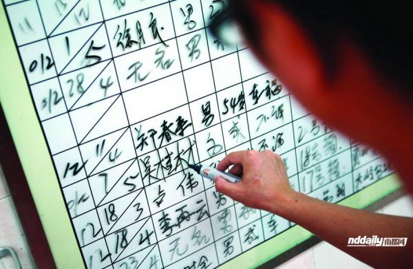 Wu Guilin's name is written down, replacing 'John Doe', after a Chinese journalist reporting on his final days identified his body with authorities.