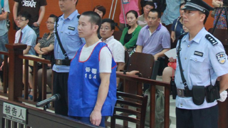 Deng Mingjian is at the court.