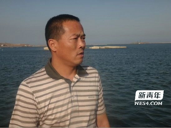 Sun Caihui, the owner of Liaodanyu 23979, one of the three fishing boats that were seized.