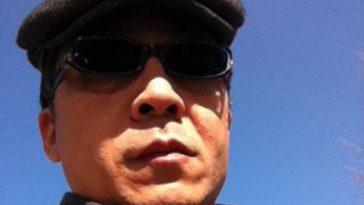 CCTV International presenter Yang Rui in sunglasses.