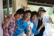 Japanese high school boys.