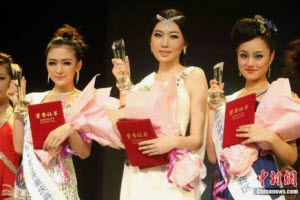Chongqing Miss World winners.