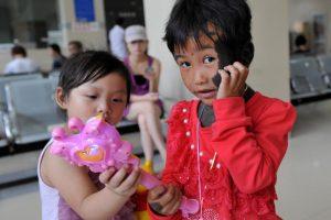 Liu Tingyue and Lili.