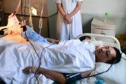 Li Boya in the hospital
