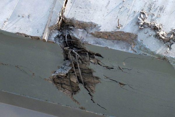 Harbin Yangmingtan Bridge collapse.