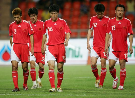 China's Men's National Football Team