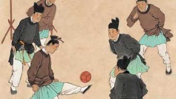 Cuju the original football