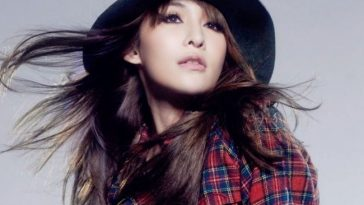 Elva Hsiao in plaid.