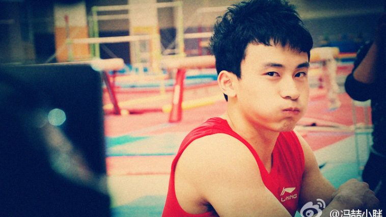 Feng Zhe, Chinese Olympic gymnast.