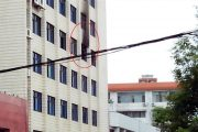 Hunan Shaoyang water company managers killed in fire by disgruntled female employee.