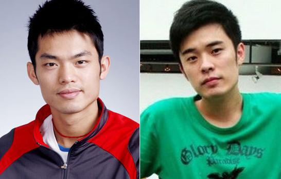 Lin Dan and Zeng Xiaoxian