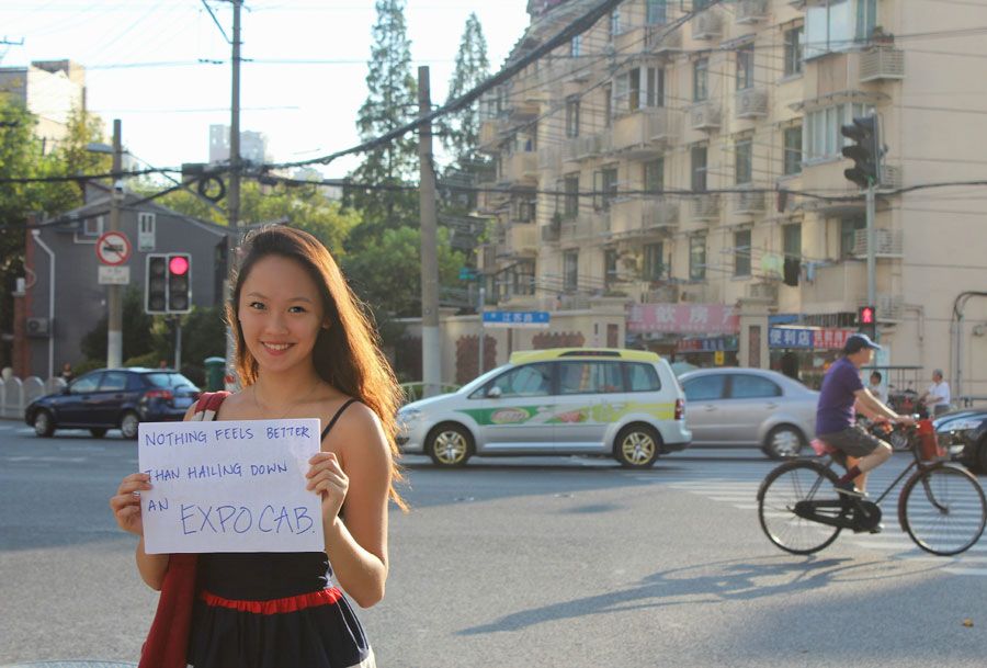 "Shanghai Calling Expat Stories Contest - Jocelyn Shih: ""Nothing feels better than hailing down an Expocab."""
