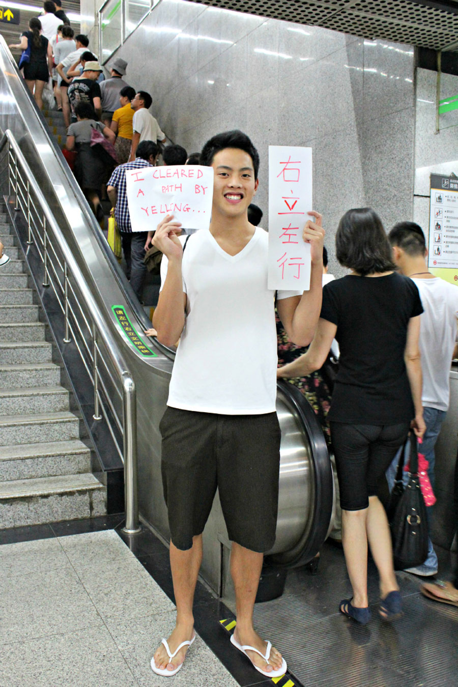 "Shanghai Calling Expat Stories - Kenny Wongs: ""I cleared a path by yelling '右立左行!'"""