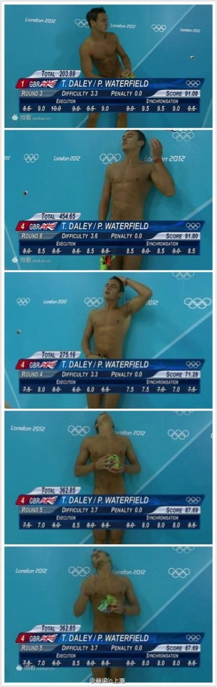 T. Daley/P. Waterfield at London Olympics