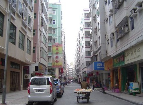 Er'nai (aka second wife) Village in Shenzhen