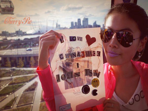 Christina, chinaSMACK Jolin Tsai Myself World Tour London Concert contest winner.