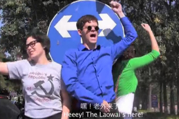 Jesse Appell in 'Laowai Style' remix of PSY's 'Gangnam Style' filmed in Beijing, China featuring the lives of foreigners in China.