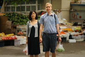 Intercultural couple: Chinese Fufu and Danish Chris.