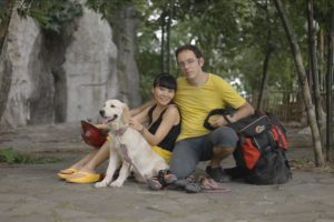 Intercultural couple Kitty from Hebei, China and Koldo from the Basque Country.