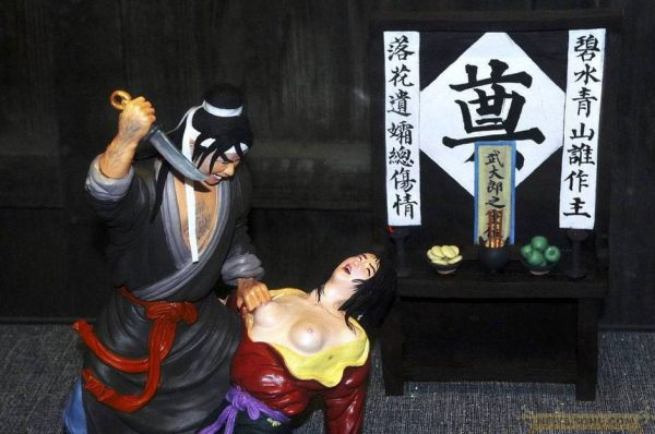 Wu Song Killing Sister-in-Law, Offers Sacrifice to his Brother.