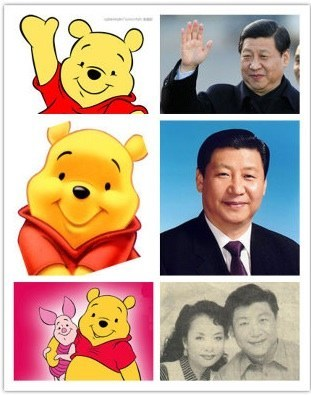 Winnie the Pooh and Xi Jinping