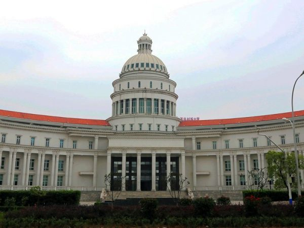 The luxurious building on Wuxi Huishan District Huishan Avenue.